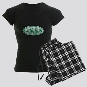Callahan Auto Parts Sandusky Ohio green Pajamas