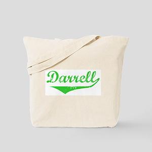 Darrell Vintage (Green) Tote Bag