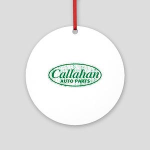 Callahan Auto Parts Sandusky Ohio g Round Ornament