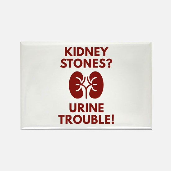 Urine Trouble Rectangle Magnet