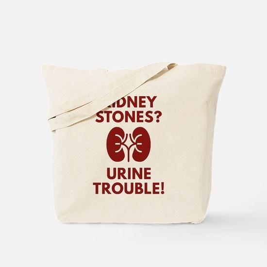 Urine Trouble Tote Bag