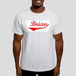 Brian Vintage (Red) Light T-Shirt