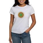 Om Orange/Green Burst Women's T-Shirt