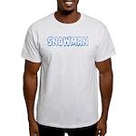 Snowman Light T-Shirt
