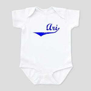 Ari Vintage (Blue) Infant Bodysuit