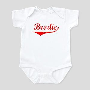 Brodie Vintage (Red) Infant Bodysuit