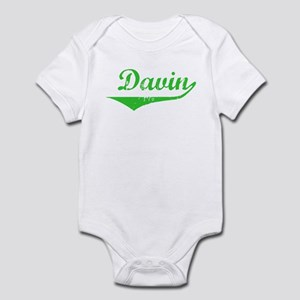 Davin Vintage (Green) Infant Bodysuit