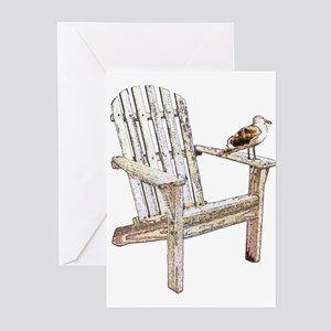 Adirondack Chair Greeting Cards