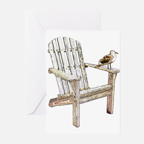 Adirondack Chair Greeting Cards
