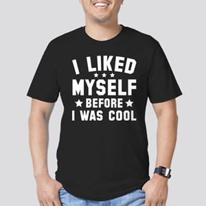 Before I Was Cool Men's Fitted T-Shirt (dark)