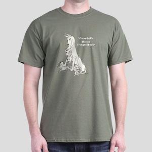 C Best Pupsitter Dark T-Shirt