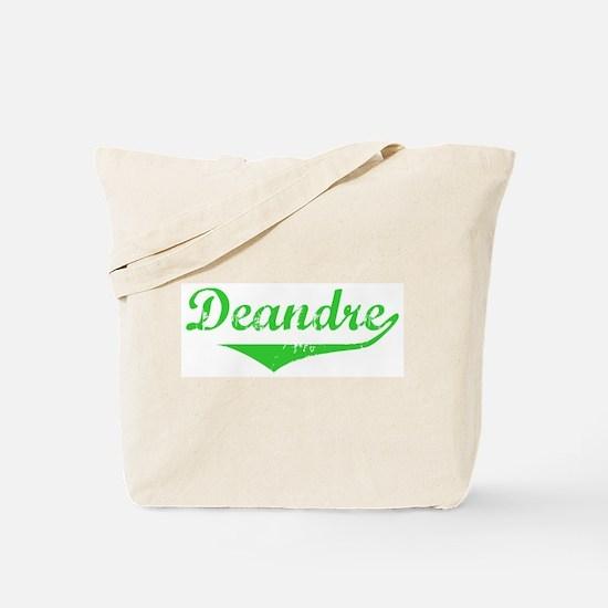 Deandre Vintage (Green) Tote Bag