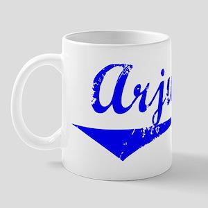 Arjun Vintage (Blue) Mug