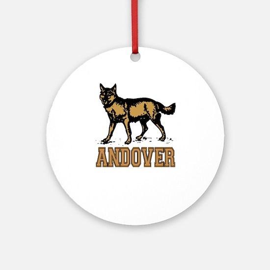 Andover Ornament (Round)
