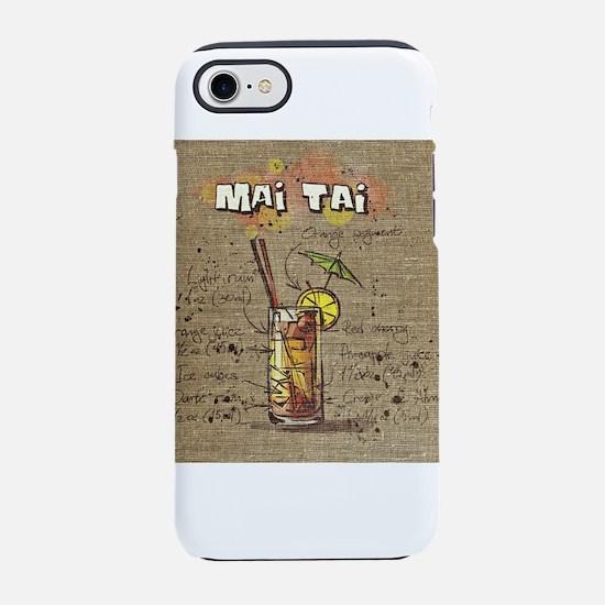 Mai Tai (Canvas) iPhone 8/7 Tough Case