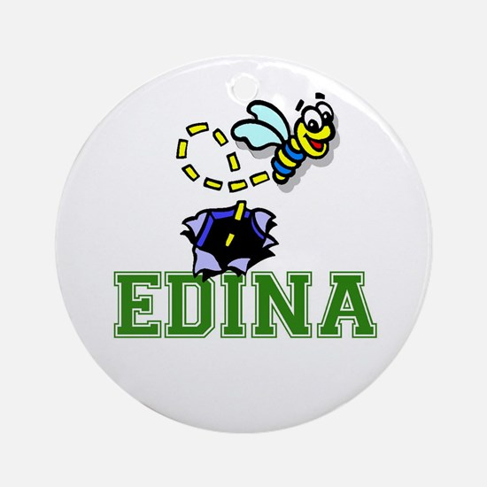 Edina Ornament (Round)