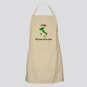 Pulia, the heel of the boot. BBQ Apron