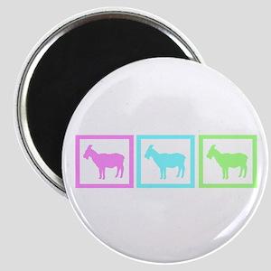 Goat Squares Magnet
