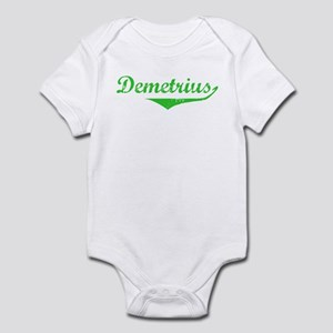 Demetrius Vintage (Green) Infant Bodysuit