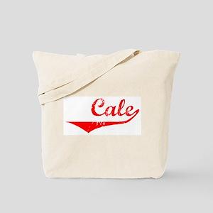 Cale Vintage (Red) Tote Bag