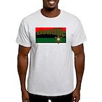 ziontific Black Flag Ash Grey T-Shirt