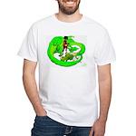 the Dragon Lady White T-Shirt