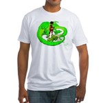 the Dragon Lady Fitted T-Shirt