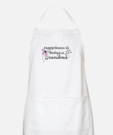 Happiness is being a Grandma BBQ Apron