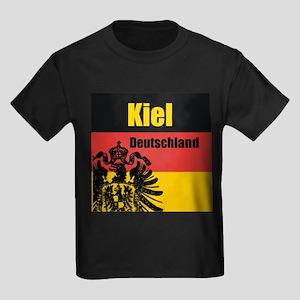 Kiel Deutschland Kids Dark T-Shirt
