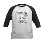 My Mommy is a Mason Kids Baseball Jersey