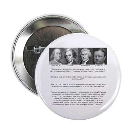 """Liberty & Patriots 2.25"""" Button (10 pack)"""