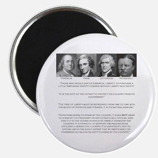 Liberty & Patriots Magnet