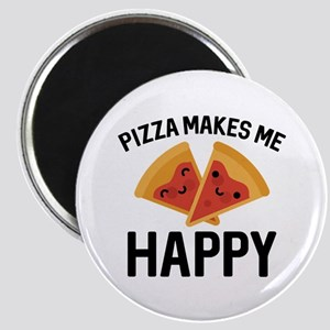 Pizza Makes Me Happy Magnet
