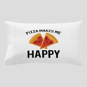 Pizza Makes Me Happy Pillow Case