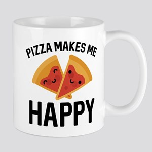 Pizza Makes Me Happy Mug