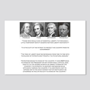 Liberty & Patriots Postcards (Package of 8)