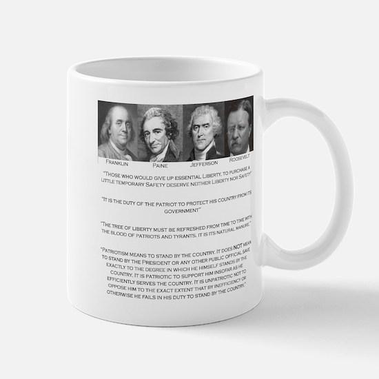 Liberty & Patriots Mug