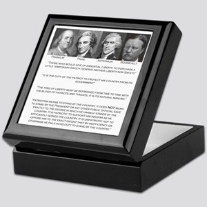 Liberty & Patriots Keepsake Box