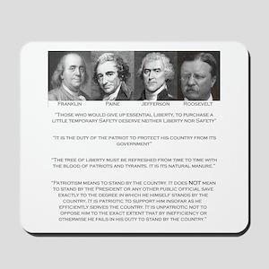 Liberty & Patriots Mousepad