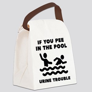 Urine Trouble Canvas Lunch Bag
