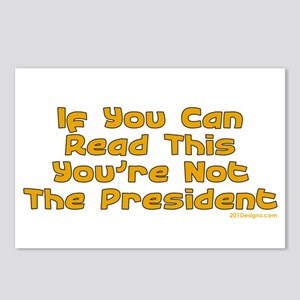 Your Not The Pres Postcards (Package of 8)