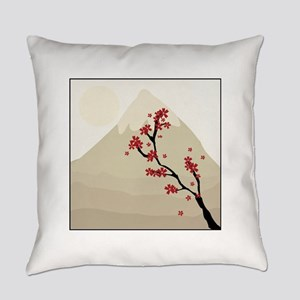 Mountain Blossom Everyday Pillow