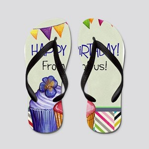 Happy Birthday From All of Us Flip Flops