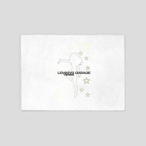 Lemmys Garage 5'x7'Area Rug