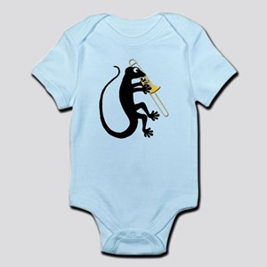 Gecko Trombone Infant Bodysuit