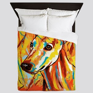 Greyhound/Whippet Queen Duvet