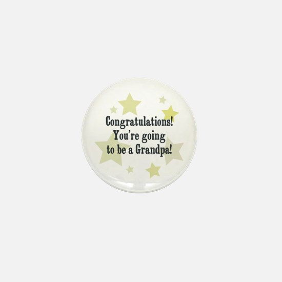 Congratulations! You're going Mini Button