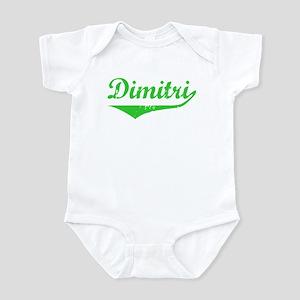 Dimitri Vintage (Green) Infant Bodysuit