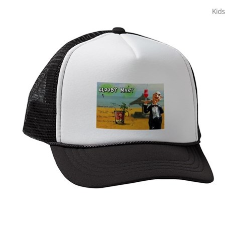 Bloody Mary (Beach) Kids Trucker hat