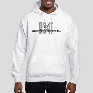 HorseKrazy Trainer Hooded Sweatshirt